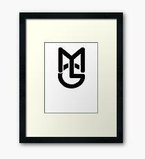Macky Gee Drum and bass Framed Print