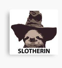 Slotherin (Slytherin) Canvas Print