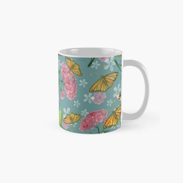 Milkweed and butterflies Classic Mug