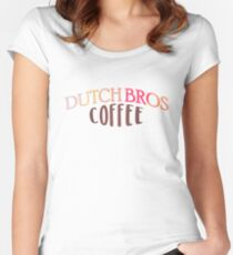 Dutch Bros Coffee Women's Fitted Scoop T-Shirt