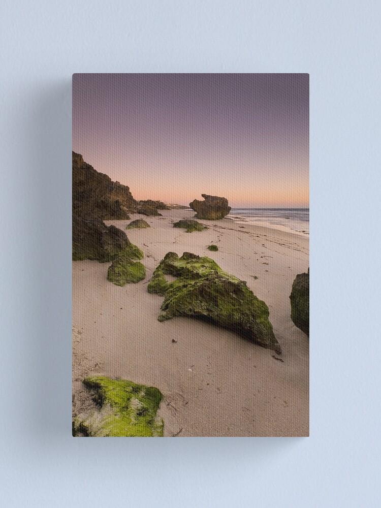 Alternate view of Seaweed rocks Canvas Print
