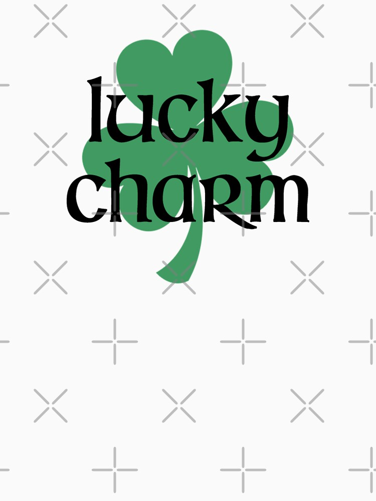 Lucky Charm – Irish, Shamrock by fandemonium