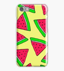 Fruit, watermelon,seamless, cartoon, pattern iPhone Case/Skin