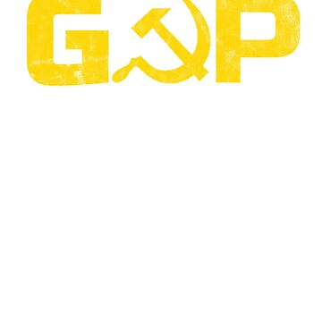 GOP Trump Russia Collusion Political Design by lepus74