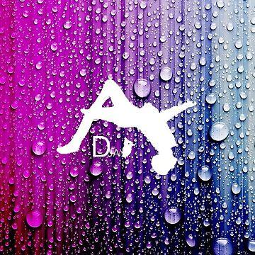 Dylan Jay Parkour Water Drip Logo by DZFreerunning