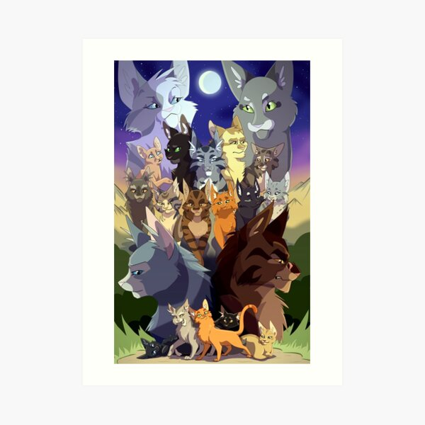 Warriors Generations Art Print