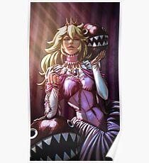Queen Peach Poster