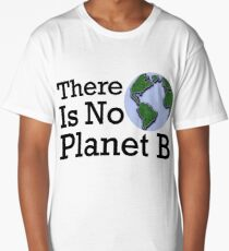 There Is No Planet B - Inverse Long T-Shirt