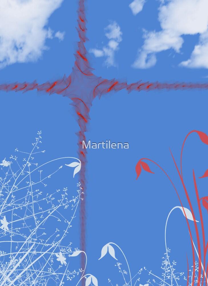 Holy cross by Martilena