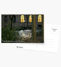 Trickle Up (Fountains of Lower Manhattan) Postcards