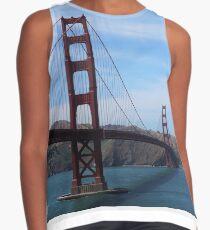 Golden Gate Bridge and Boat San Fancisco Contrast Tank