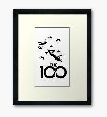 The 100 Framed Print
