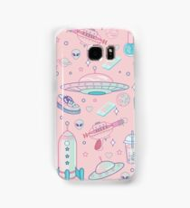 Galaxy Babe Pattern Samsung Galaxy Case/Skin