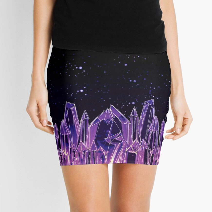 Dark Crystal Mini Skirt