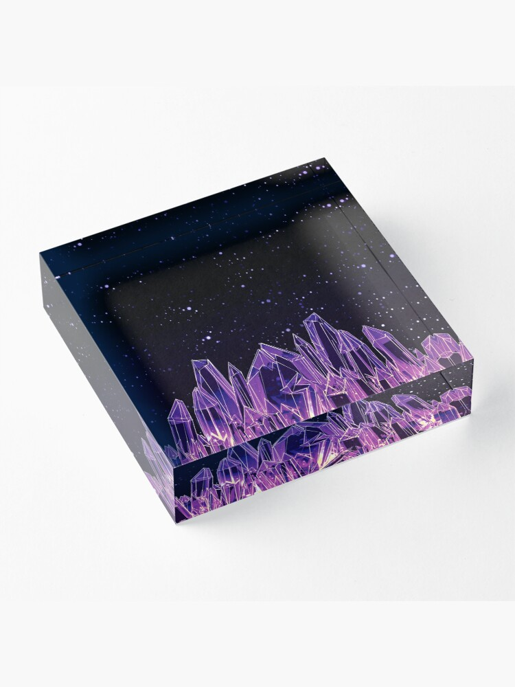 Alternate view of Dark Crystal Acrylic Block