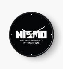 Reloj Logotipo blanco retro de Nismo Nissan Motorsport