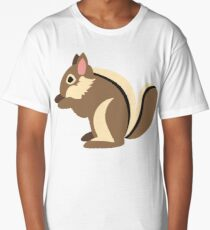 Cartoon Squirrel Long T-Shirt