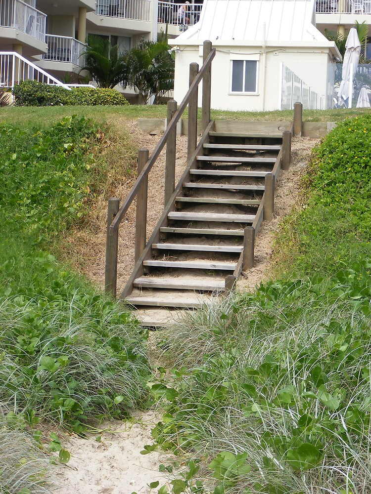 Beach Steps by Brooke Wallace