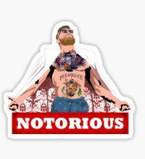 Conor Mcgregor NYC Sticker