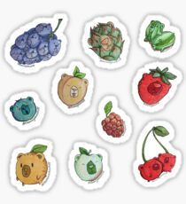 Fruit Basket Bears Sticker