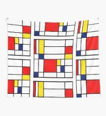 Mondrian Zusammensetzung Wandbehang