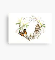 Natural History Wreath Canvas Print