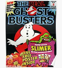 Ghost Busters cereal Poster