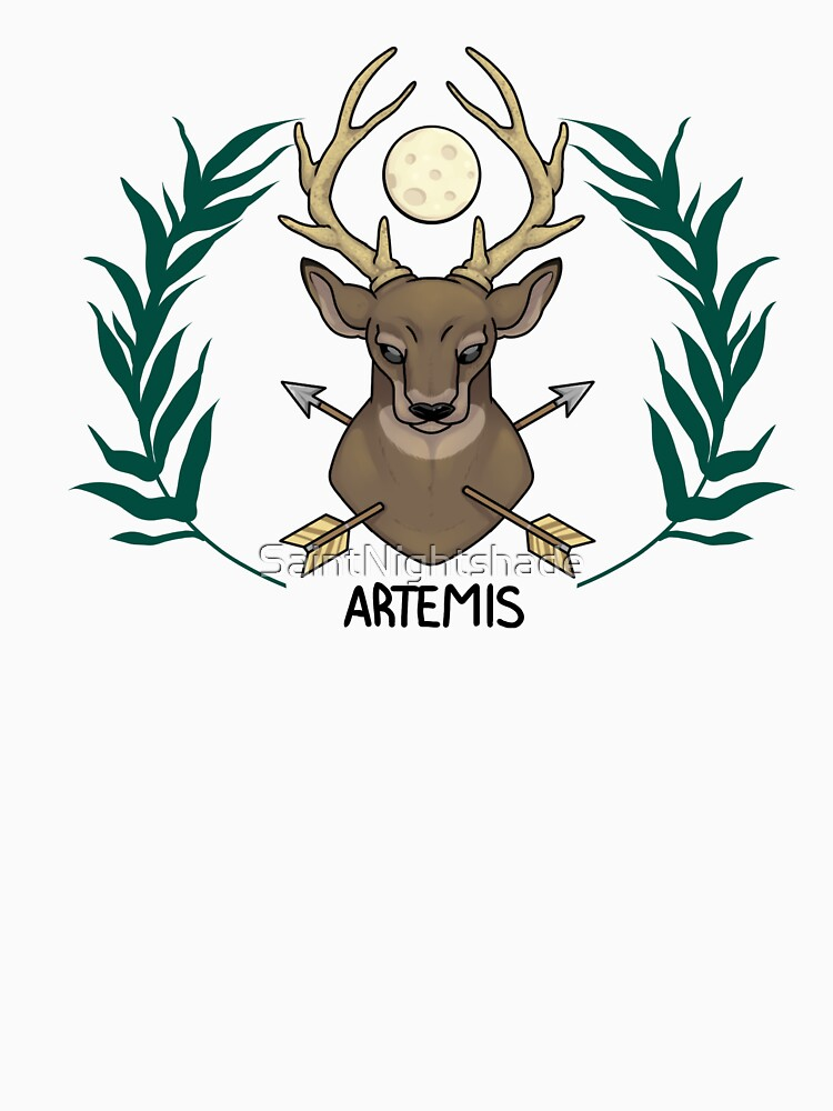 Artemis Inspired Cabin Symbol Classic T Shirt By Saintnightshade