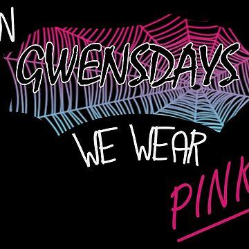 Gwensdays we wear pink by LindasDesign