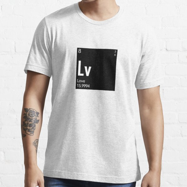 The Element of Love (Black) Essential T-Shirt