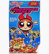 Powerpuff girls cereal Poster