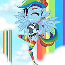 Rainbow Punk by veethebunny