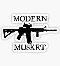 Modern Musket Sticker