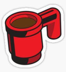 Brick Coffee Mug Sticker