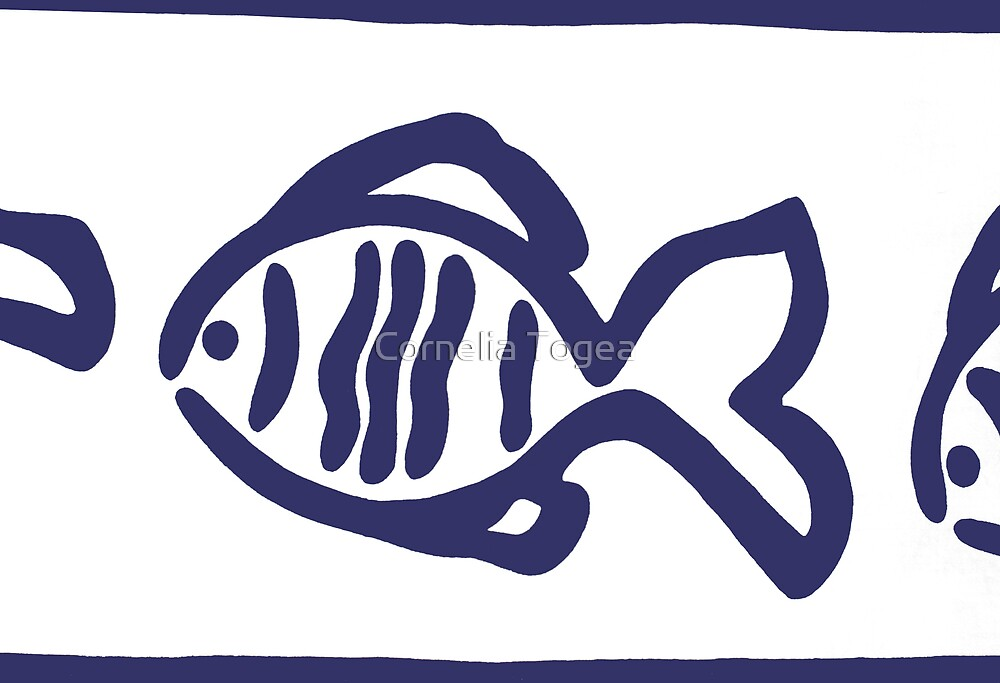 three fish by Cornelia Togea