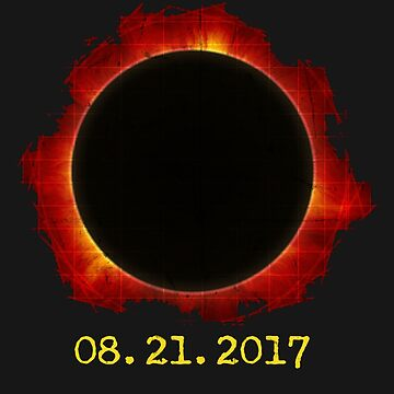 2017 Solar Eclipse Shirt Total Solar Eclipse T-Shirt For Men, Women, and Kids by arnaldog