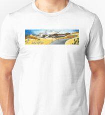 Sun over Australian fields Unisex T-Shirt