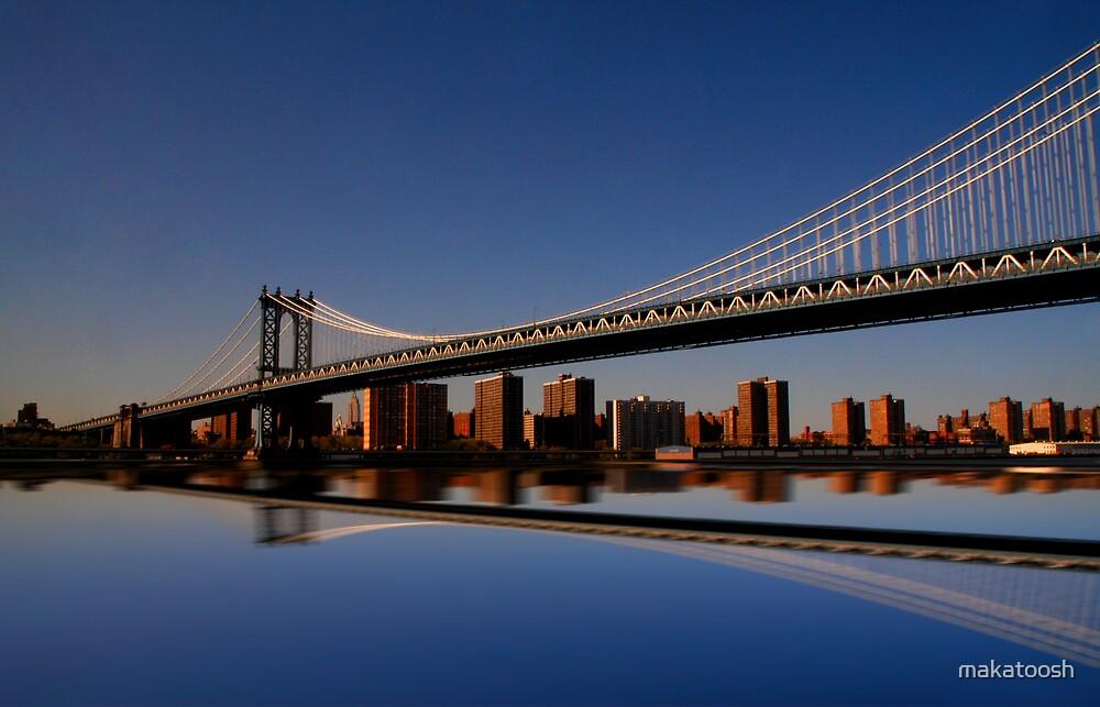 Manhattan Bridge by makatoosh