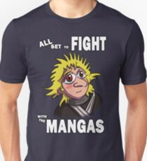 All Set to Fight with the Mangas T-Shirt