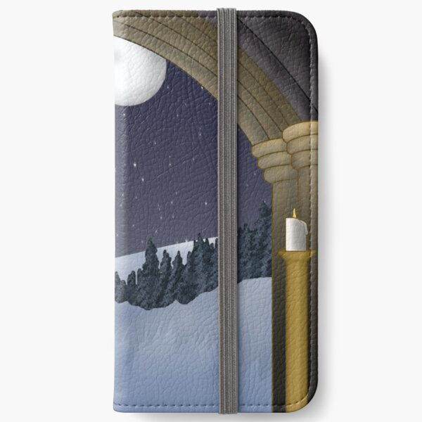 Winter Night iPhone Wallet