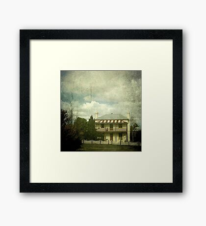 The Station Master's Cottage, Uralla, New South Wales Framed Print