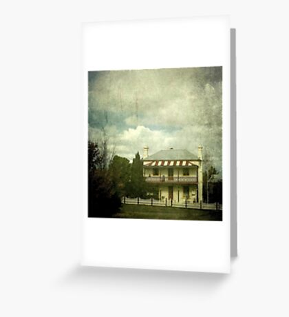 The Station Master's Cottage, Uralla, New South Wales Greeting Card
