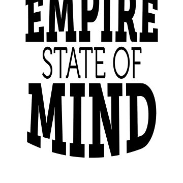 Empire State of Mind by AridDesigns