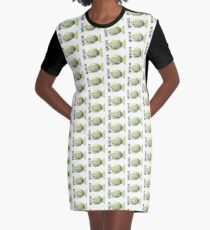 Cute X-Ray Fish with a Xylophone Graphic T-Shirt Dress