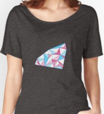 Seamless geometric pattern of triangles Women's Relaxed Fit T-Shirt
