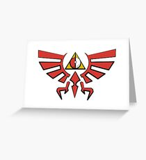Deathly Poke Crest Greeting Card
