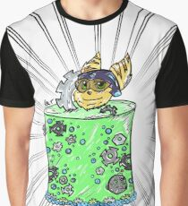 Nut & Bolt Cake Graphic T-Shirt
