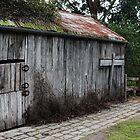 Pioneers Barn by Jeanette Varcoe.