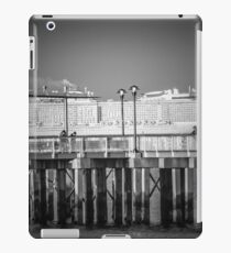 View On Cruise Liner From The Promenade   Coney Island, New York iPad Case/Skin