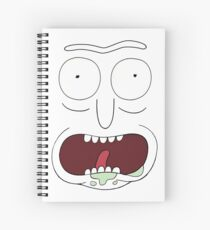 im Book Rick - Rick and Morty Spiral Notebook